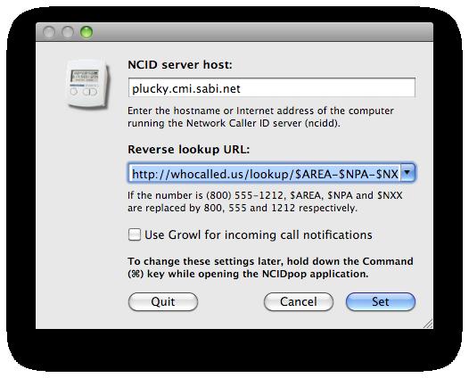 download NCIDpop 1 10 5 free portable on mac osx sierra